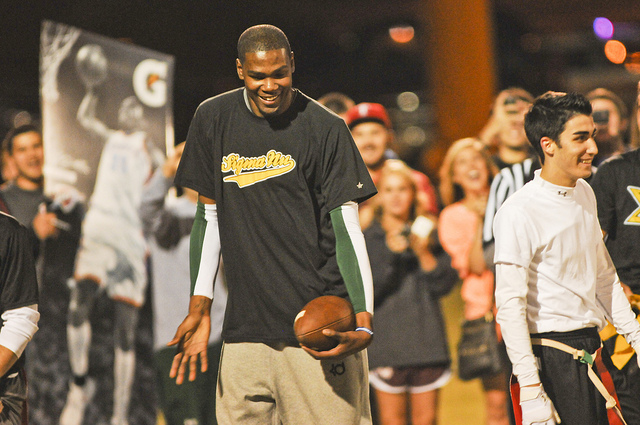 2c7caf7a78d4 Kevin Durant - First Millionaire Flag Football Player...Ever ...