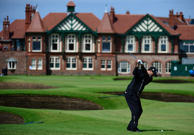 GOLF: The Open Championship-Practice Round