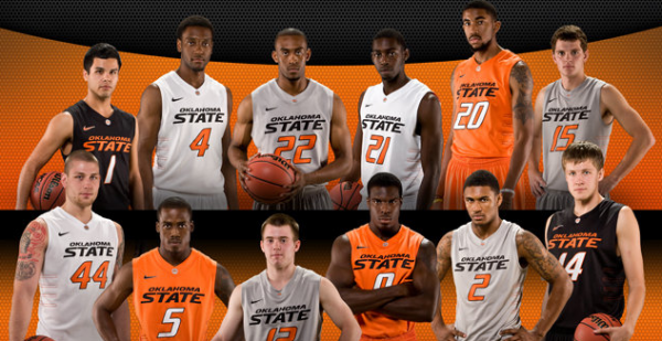 watch 52f87 f4cc7 The New Oklahoma State Basketball Uniforms | Pistols Firing