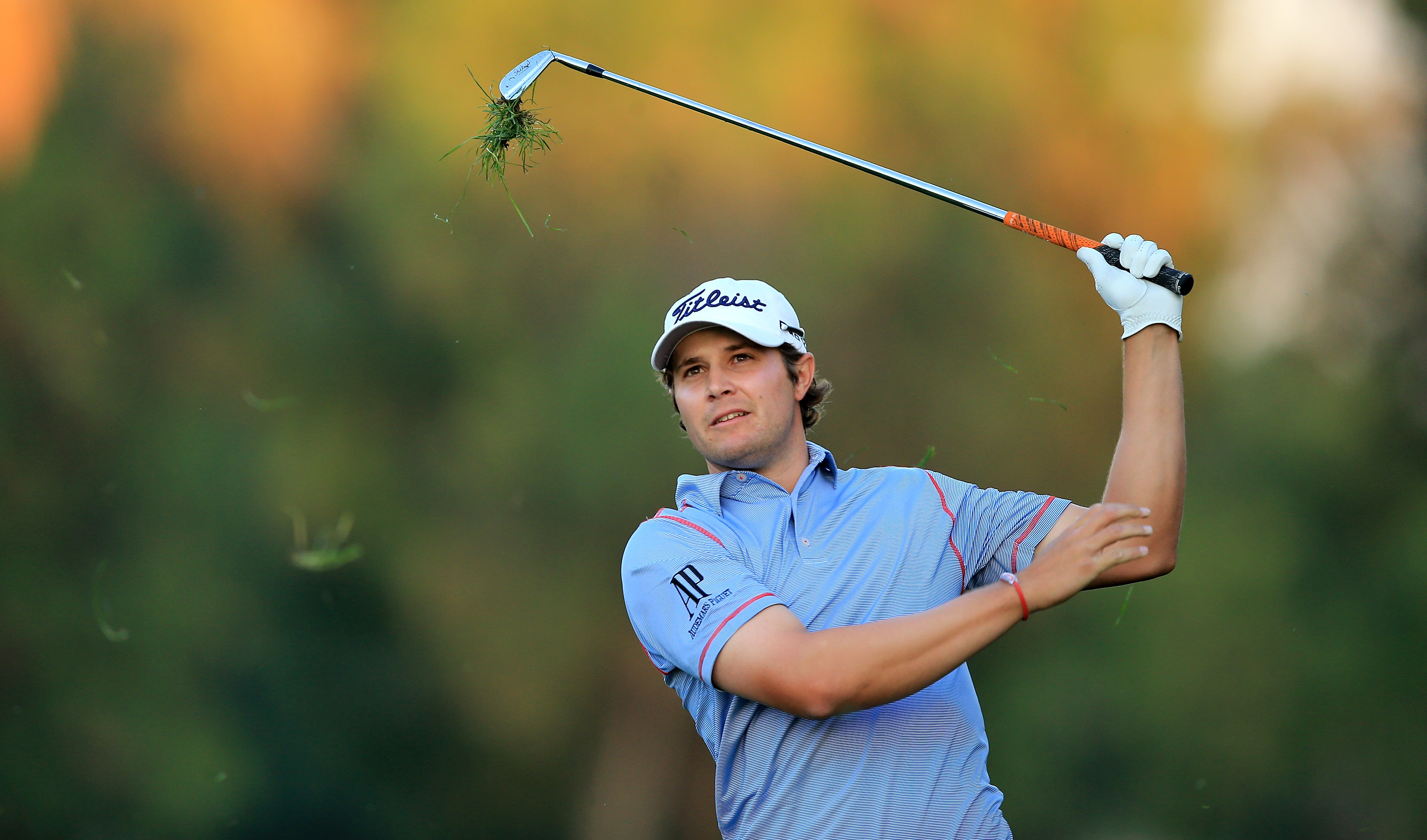 Peter Uihlein and Patrick Reed, not best friends. (Getty Images)