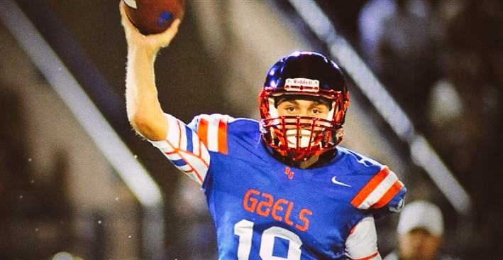2017 QB Tate Martell Receives OSU Offer Pistols Firing