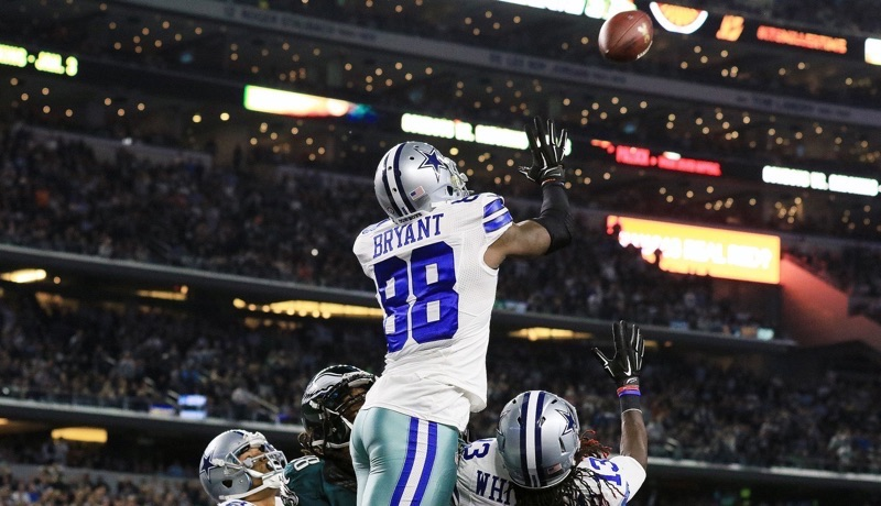 Watch This Dez Bryant Catch Is Ludicrous Pistols Firing