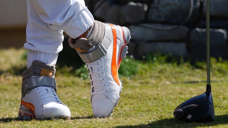 Rickie Fowler Rocks High-Top Spikes 204bbc5bf876