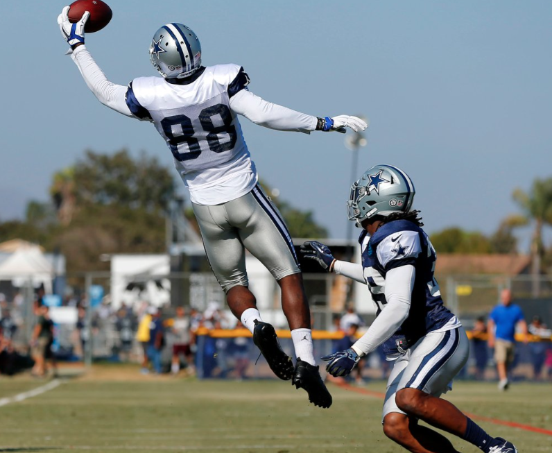 Watch Dez Bryant Makes Unreal One Handed Grab In Spring