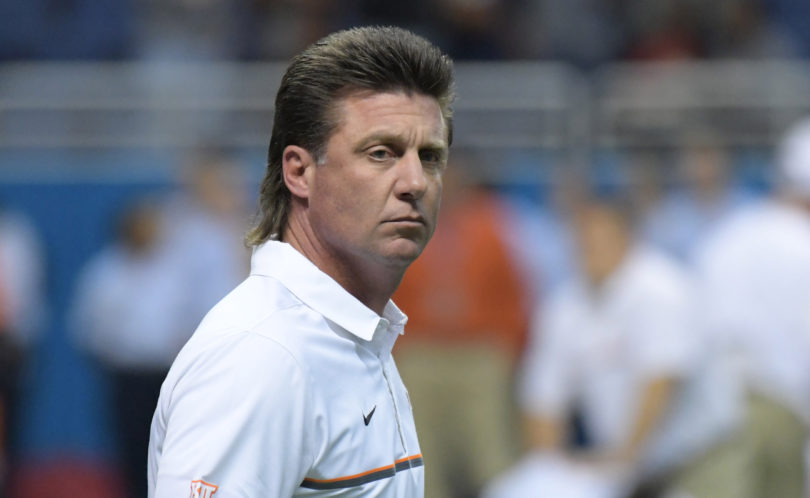 Mike Gundy Mullet 2017 >> Dana Holgorsen Approves Gundy Mullet, Suggests a Perm | Pistols Firing