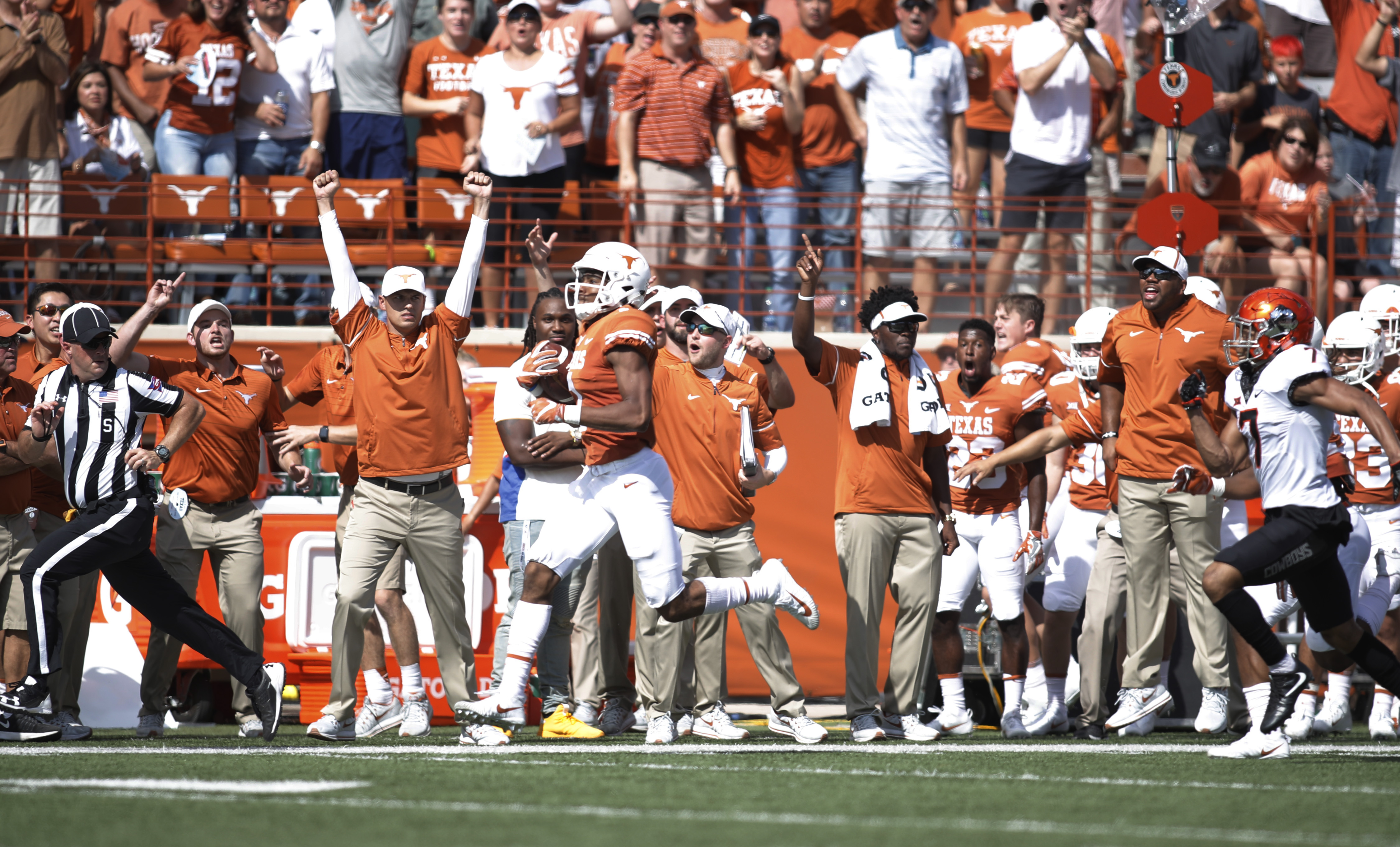 Leftover Notes And Thoughts From The Oklahoma State Texas