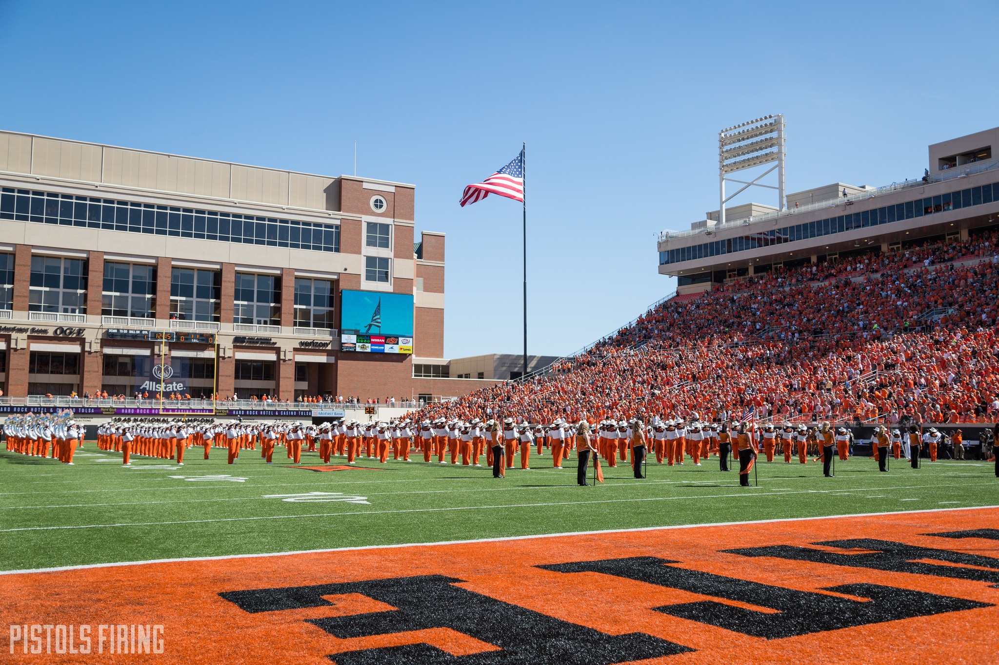 Oklahoma State Ties Highest Football Attendance Ranking Ever