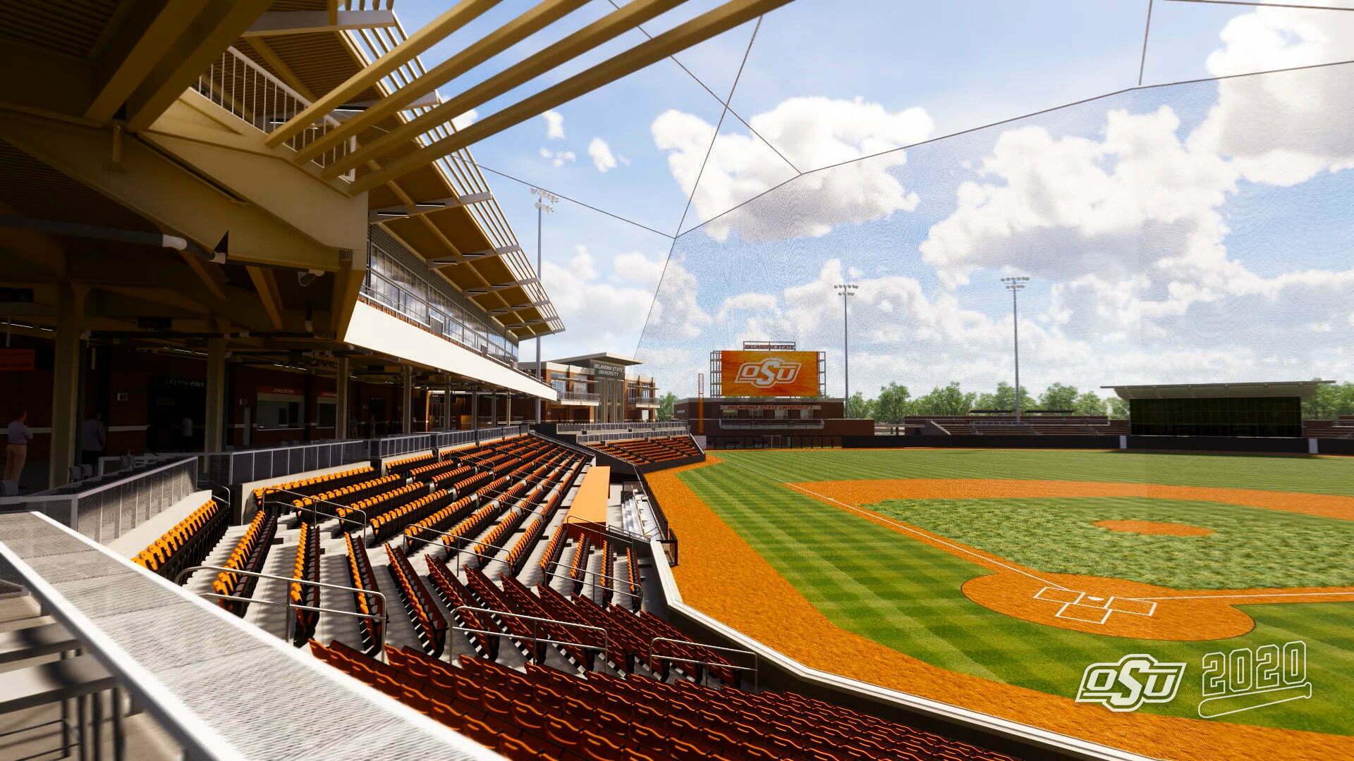 Oklahoma State Unveils New $60 Million Baseball Stadium ...