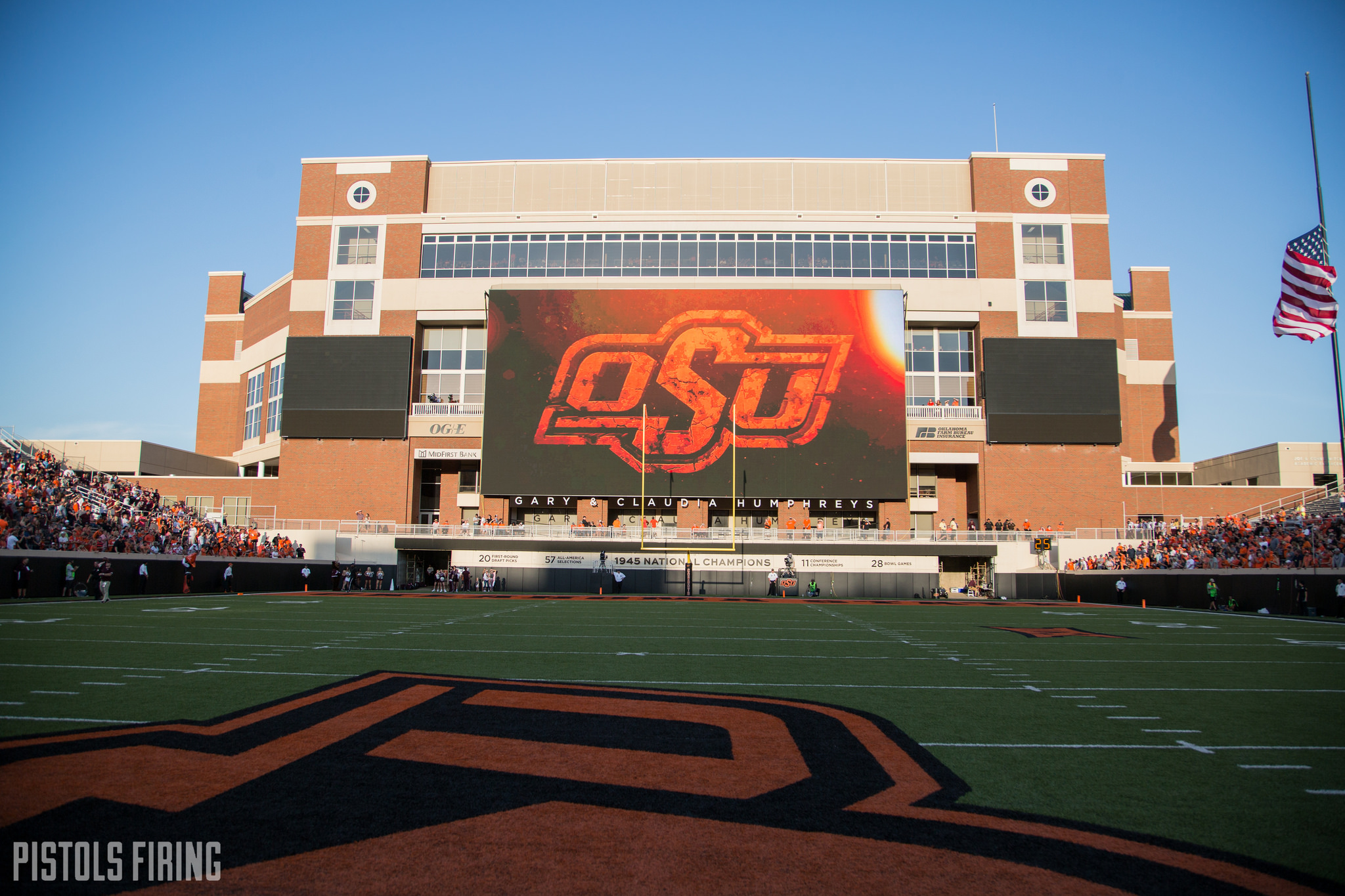 How OSU Used Its New Video Board and Stole the Show in Season Opener