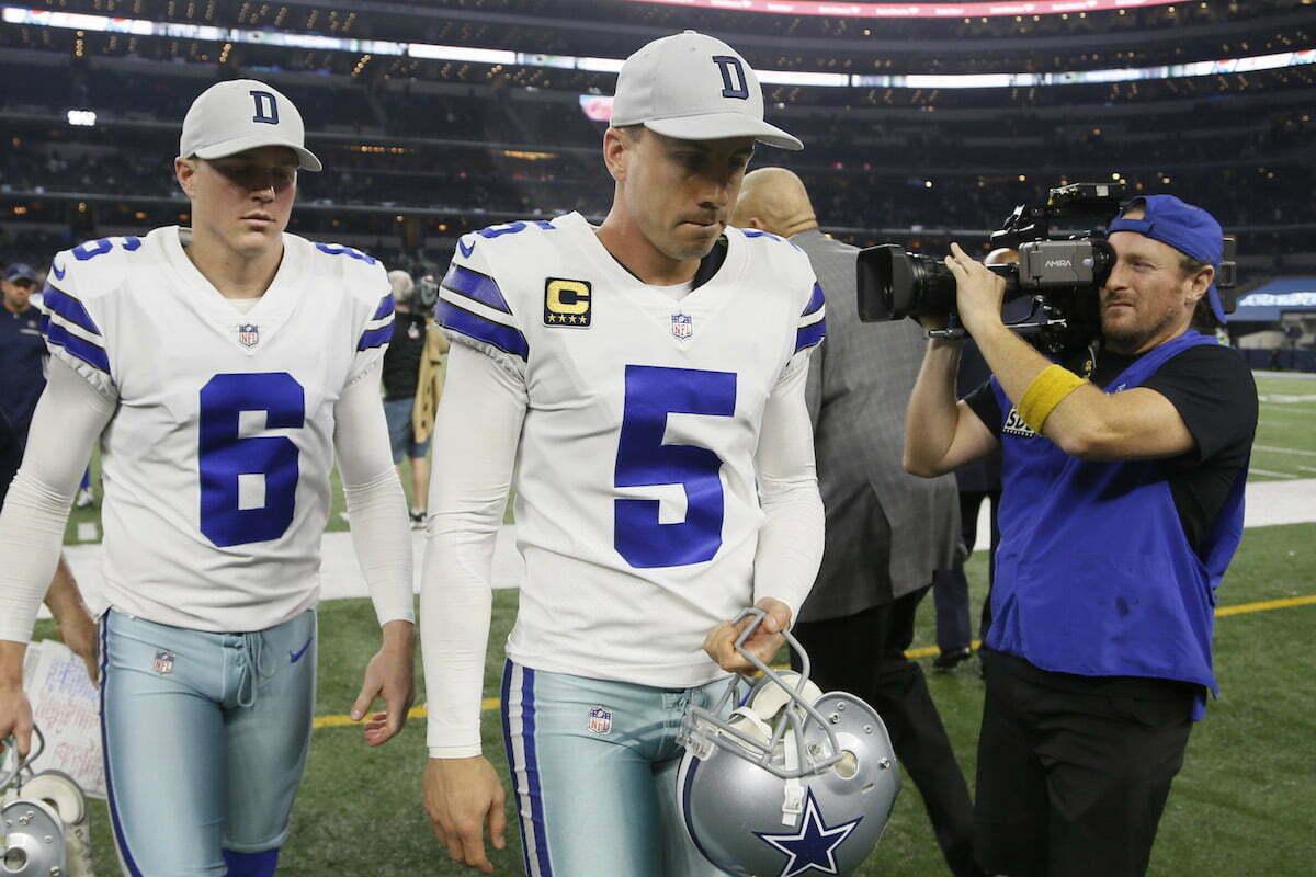 reputable site a2a21 9ce00 Dallas Cowboys Release Veteran Kicker Dan Bailey in ...