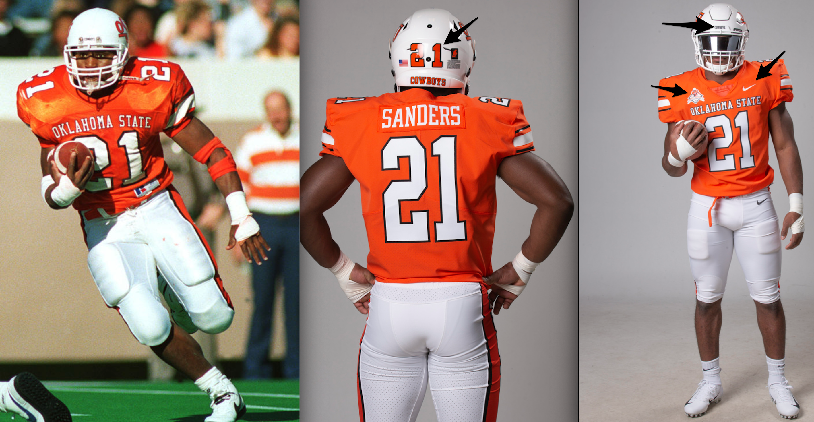 wholesale dealer 9b196 69edf PFB - Five Thoughts on Oklahoma State's 1988 Throwback Unis ...