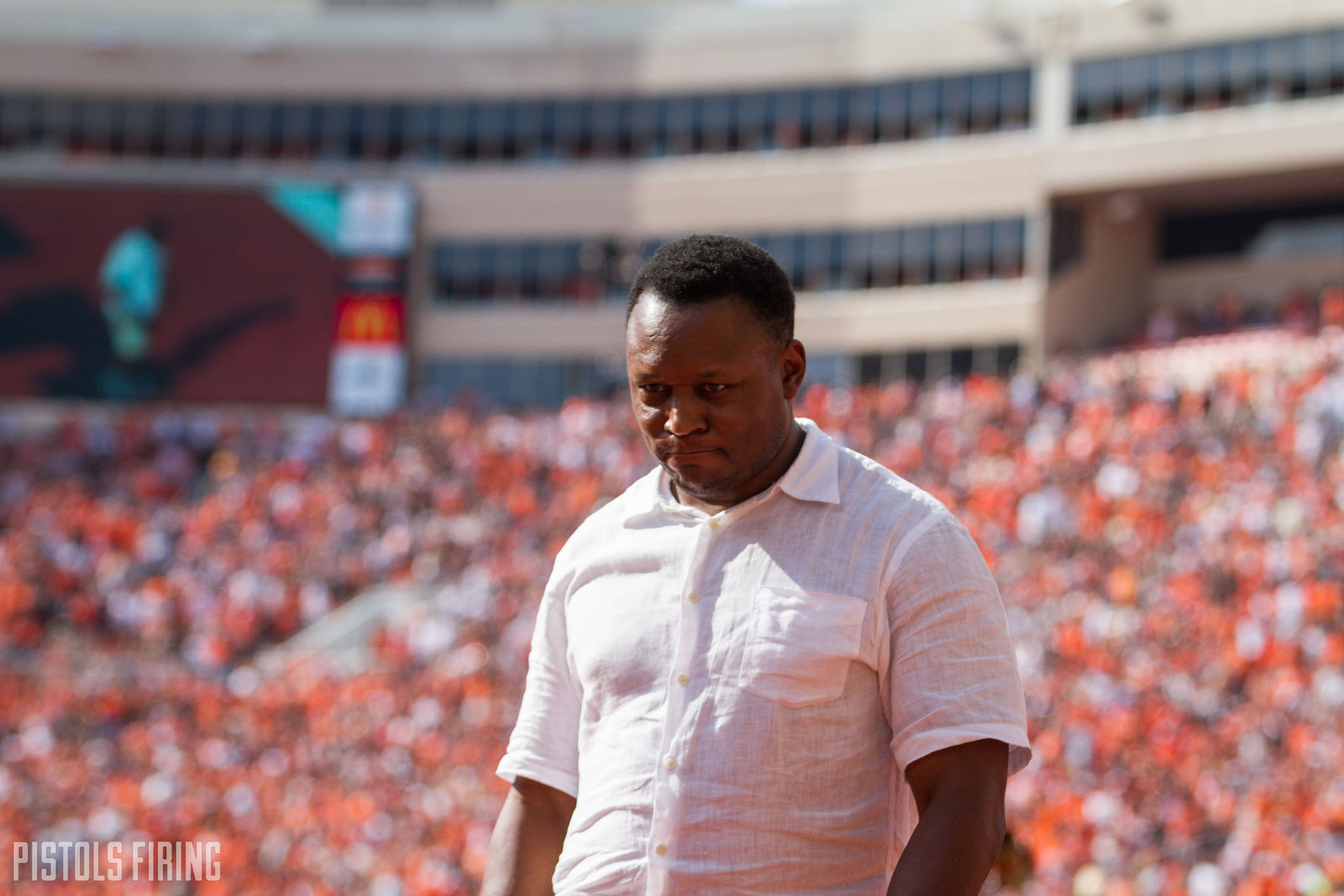 Barry Sanders Pens Letter To Osu Family Following Amazing