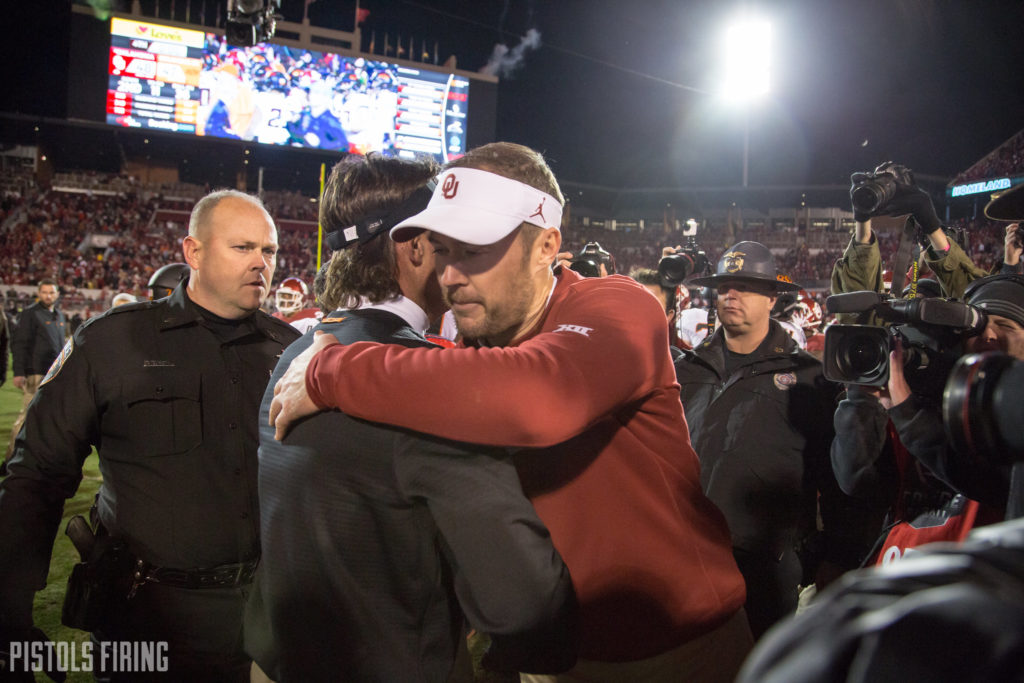OU's Recent Recruiting Loss Validates Gundy's Policy on Commits and Visits