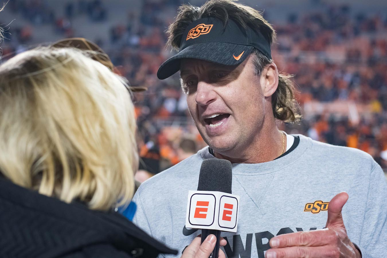 Why Mike Gundy Has New Life as a Coach and is Excited About the 2019 Season