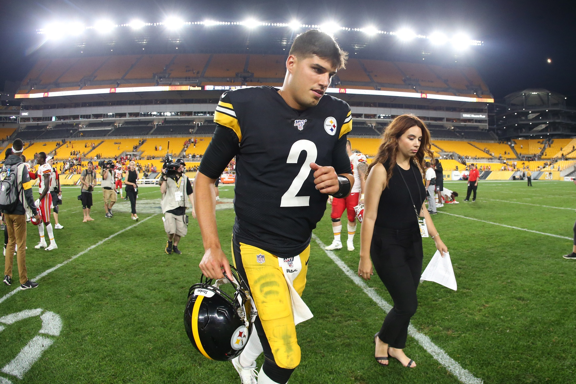 Report Mason Rudolph Named The Pittsburgh Steelers No 2 Qb