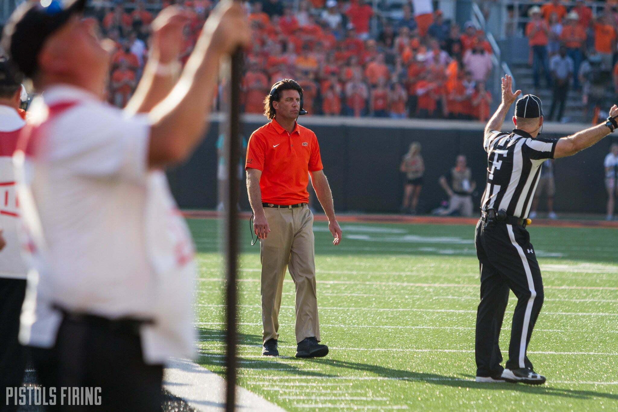 FSU, Michigan, USC All Among Favorites to Land Mike Gundy In 2020   Pistols Firing