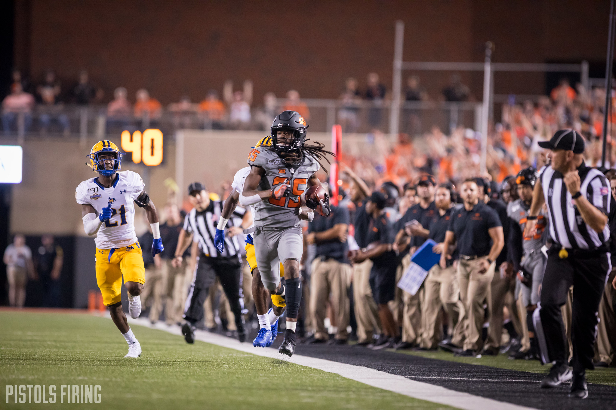 Several Cowboys Returning Home for Bout with Tulsa | Pistols Firing