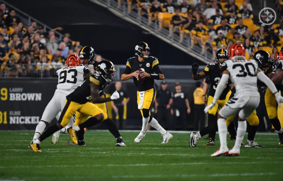 Mason Rudolph Leads Steelers To 27 3 Win Over Bengals In