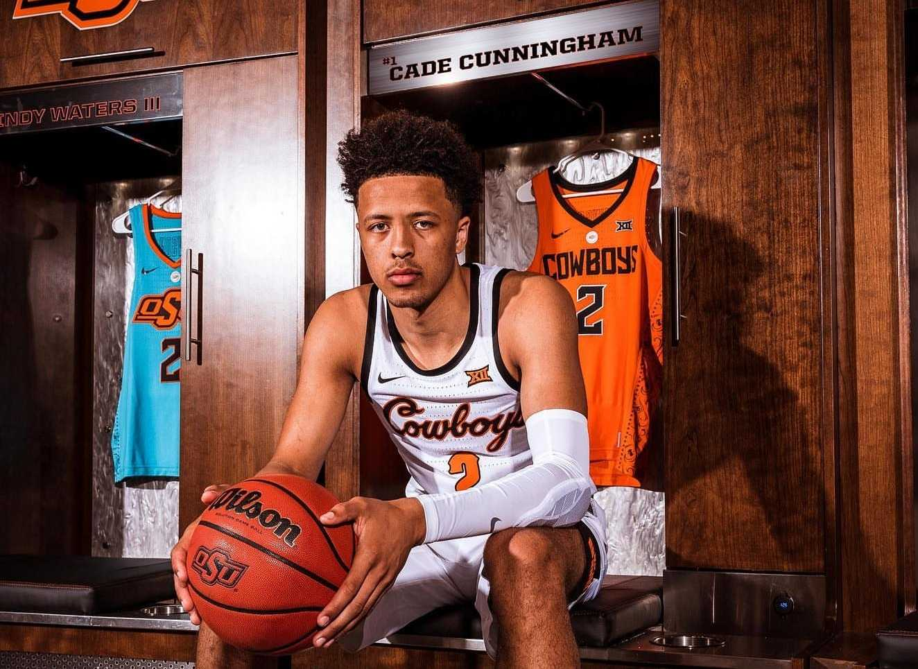 Cade Cunningham Signs Letter of Intent, Officially Making Him a Cowboy | Pistols Firing