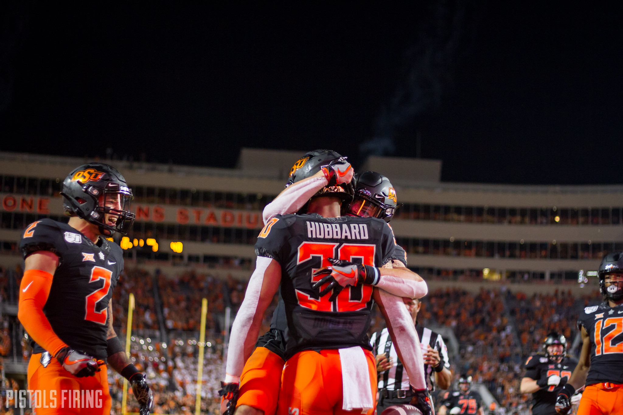 With Chuba in the Fold, OSU's Big 3 One of Its Most Exciting Trios Ever | Pistols Firing