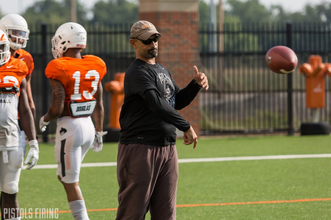 Kasey Dunn Elevated to Oklahoma State Offensive Coordinator | Pistols Firing