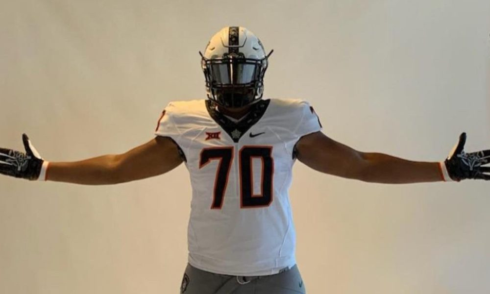Four-Star Offensive Tackle Recruit Decommits from Oklahoma State